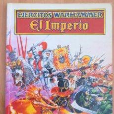Juegos Antiguos: EJERCITOS WARHAMMER EL IMPERIO. Lote 134039254