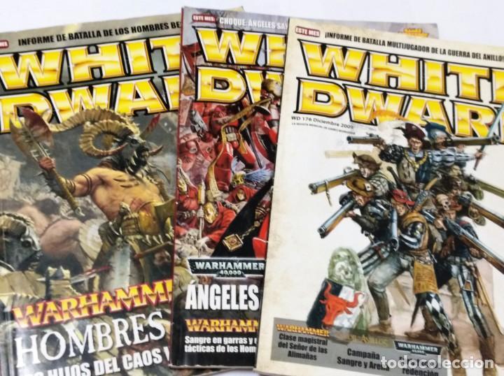 LOTE REVISTAS WHITE DWARF WARHAMMER GAMES WORKSHOP (Juguetes - Rol y Estrategia - Warhammer)