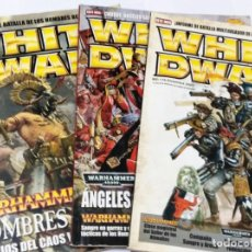 Juegos Antiguos: LOTE REVISTAS WHITE DWARF WARHAMMER GAMES WORKSHOP . Lote 134123990