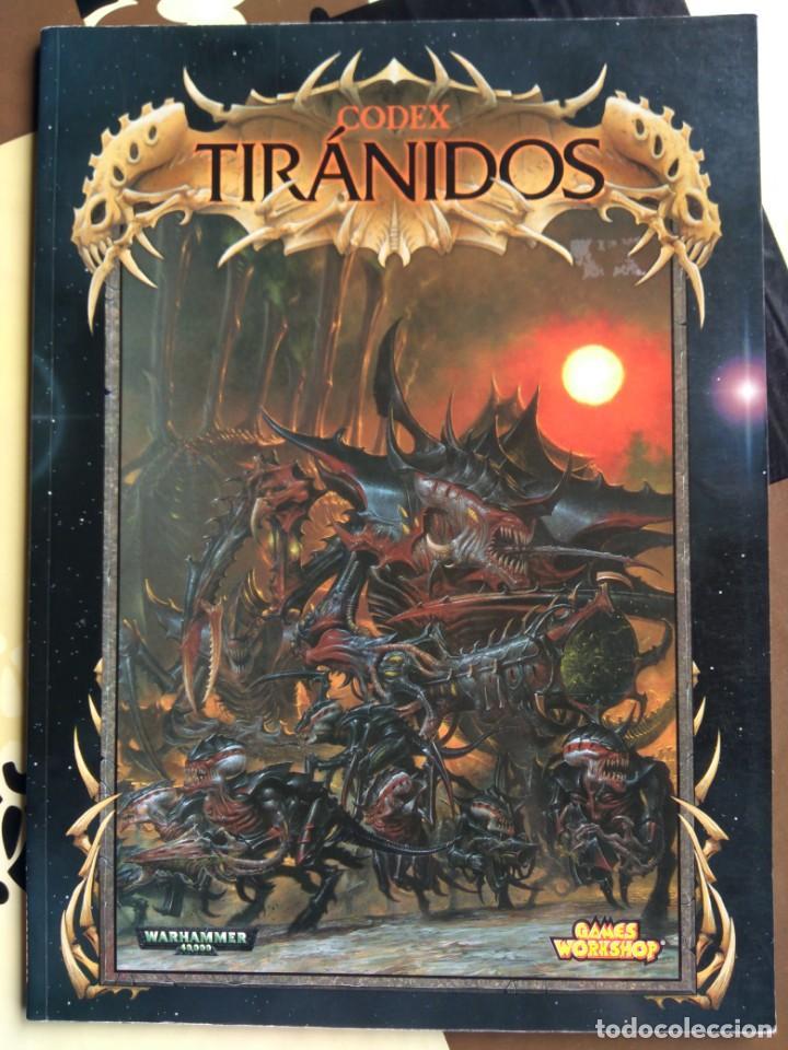 Codex Tiranidos - Warhammer 40K - 3a Ed. - Games workshop segunda mano