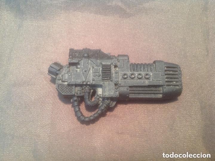 Plasma Cannon Cañón de Plasma Chaos Dreadnought Forge World Warhammer 40K, usado segunda mano