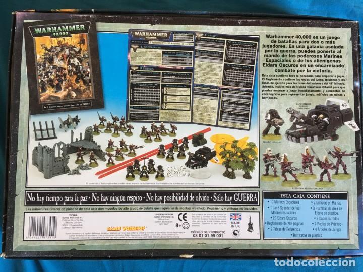 Juegos Antiguos: WARHAMMER 40000 DE GAMES WORKSHOP - Foto 2 - 135263930
