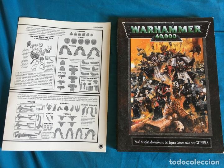 Juegos Antiguos: WARHAMMER 40000 DE GAMES WORKSHOP - Foto 3 - 135263930