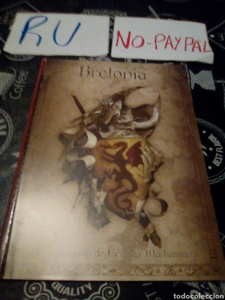 Codex warhammer bretonia ver fotos estado falta portada delantera primera pagina algo rota interi ok segunda mano