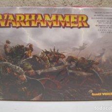Juegos Antiguos: WARHAMMER - REGIMIENTO DE GUERREROS DE CLAN SKAVEN - GAMES WORKSHOP - NUEVO.. Lote 136485490