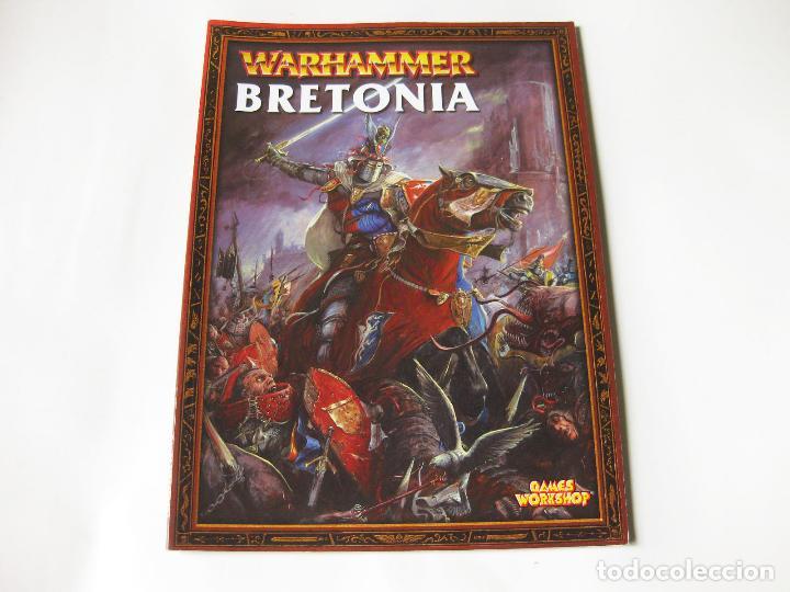 LIBRO DE BRETONIA - UN SUPLEMENTO DE EJÉRCITOS WARHAMMER - GAMES WORKSHOP 2003 segunda mano
