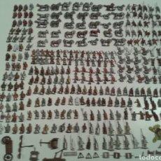 Juegos Antiguos: LOTAZO MÁS DE 300 FIGURAS PLOMO WARGAMES WARHAMMER IMPERIO ROMANO. Lote 136857364