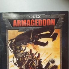 Juegos Antiguos: CODEX ARMAGEDDON. WARHAMMER 40000. Lote 139072986