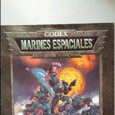 Juegos Antiguos: CODEX MARINES ESPACIALES. WARHAMMER 40000. Lote 139073110