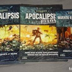 Juegos Antiguos: WARHAMMER 40000 APOCALIPSIS - APOCALIPSIS RELOAD - MUERTE EN LAS CALLES. Lote 139215342
