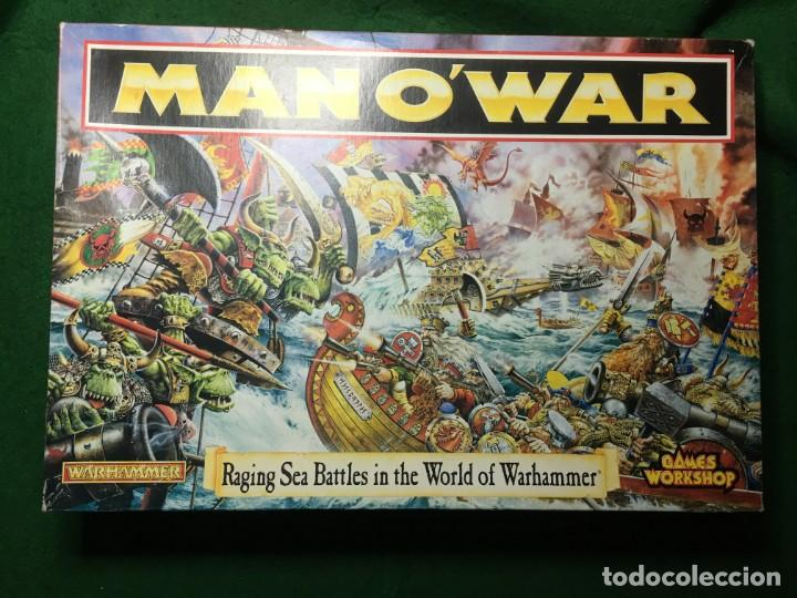 JUEGO MAN O'WAR RACING SEA BATTLES IN THE WORLD OF WARHAMMER DE GAMES WORKSHOP (Juguetes - Rol y Estrategia - Warhammer)