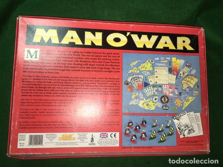 Juegos Antiguos: JUEGO MAN OWAR RACING SEA BATTLES IN THE WORLD OF WARHAMMER DE GAMES WORKSHOP - Foto 2 - 139439734
