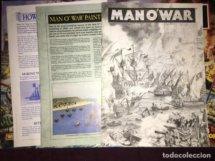 Juegos Antiguos: JUEGO MAN OWAR RACING SEA BATTLES IN THE WORLD OF WARHAMMER DE GAMES WORKSHOP - Foto 16 - 139439734