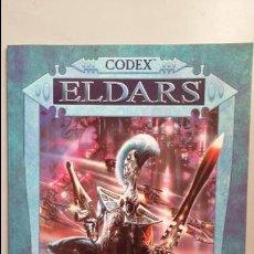 Juegos Antiguos: WARHAMMER 40000. CODEX ELDARS. Lote 140270846