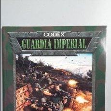 Juegos Antiguos: WARHAMMER 40000. CODEX GUARDIA IMPERIAL. Lote 140270886
