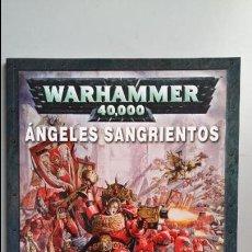 Juegos Antiguos: WARHAMMER 40000. CODEX ANGELES SANGRIENTOS. Lote 140270954