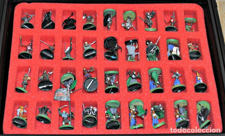 Juegos Antiguos: MALETÍN CON 152 FIGURAS DE GAMES WORKSHOP - Foto 3 - 140322102