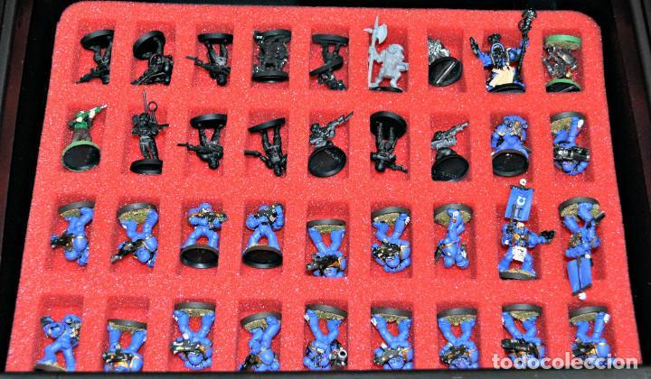 Juegos Antiguos: MALETÍN CON 152 FIGURAS DE GAMES WORKSHOP - Foto 4 - 140322102