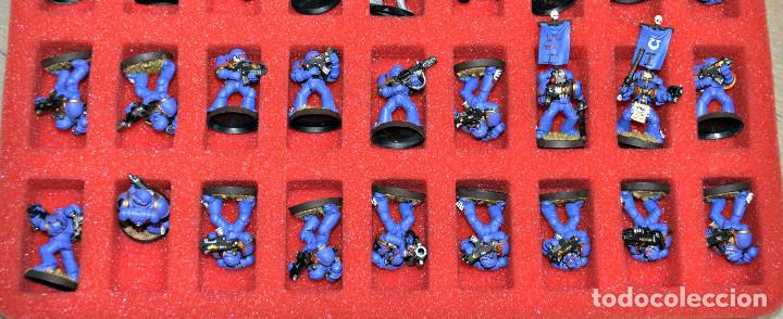 Juegos Antiguos: MALETÍN CON 152 FIGURAS DE GAMES WORKSHOP - Foto 8 - 140322102