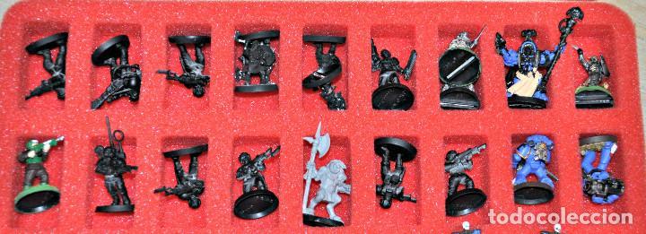 Juegos Antiguos: MALETÍN CON 152 FIGURAS DE GAMES WORKSHOP - Foto 9 - 140322102