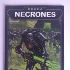 Juegos Antiguos: CODEX/NECRONES/SU NUMERO ES LEGION,SU NOMBRE MUERTE/WARHAMMER 40.000.. Lote 140408318