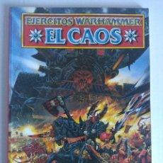 Juegos Antiguos: EJERCITOS WARHAMMER/EL CAOS.. Lote 140408782