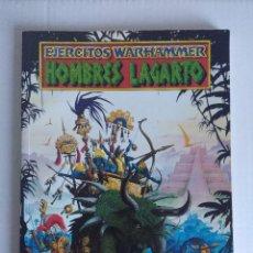 Juegos Antiguos: EJERCITOS WARHAMMER/HOMBRES LAGARTO.. Lote 140409330
