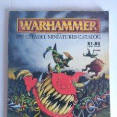 Juegos Antiguos: WARHAMMER CATALOGO/1997 CITADEL MINIATURES CATALOG.. Lote 140409978