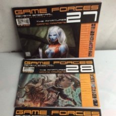 Juegos Antiguos: REVISTA GAME FORCES THE MINIATURES GAMING MAGAZINE , LOTE DE 7 EJEMPLARES. Lote 140432386