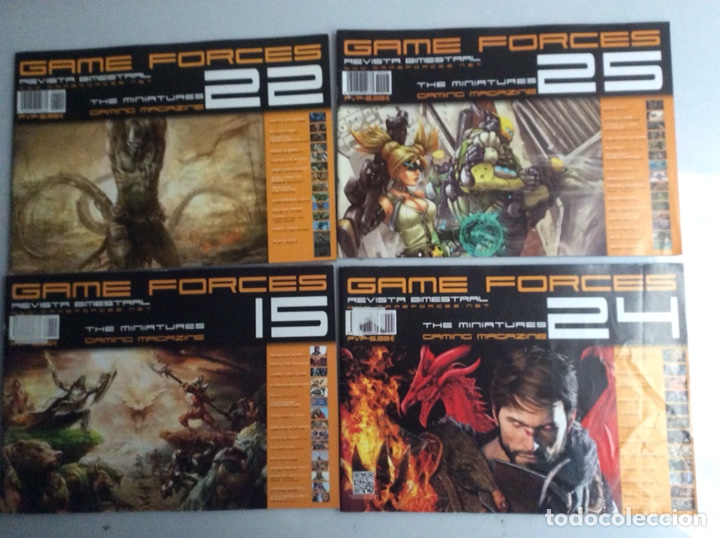 Juegos Antiguos: REVISTA GAME FORCES THE MINIATURES GAMING MAGAZINE , LOTE DE 7 EJEMPLARES - Foto 2 - 140432386