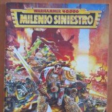 Juegos Antiguos: WARHAMMER 40000 MILENIO SINIESTRO. Lote 141488894
