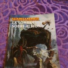 Juegos Antiguos: WARHAMMER : LA SOMBRA SOBRE ALBIÓN.GAMES WORKSHOP. Lote 141685072