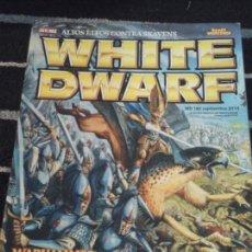 Juegos Antiguos: WHITE DWARF N. 185. Lote 142083478