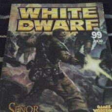 Juegos Antiguos: WHITE DWARF N. 99. Lote 142240422