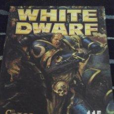 Juegos Antiguos: WHITE DWARF N. 115. Lote 142262882