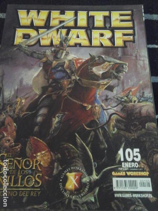 WHITE DWARF N. 105 (Juguetes - Rol y Estrategia - Warhammer)