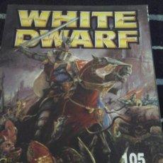 Juegos Antiguos: WHITE DWARF N. 105. Lote 142263258