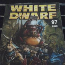 Juegos Antiguos: WHITE DWARF N. 97. Lote 142306730