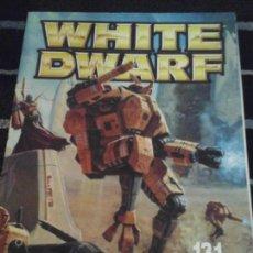 Juegos Antiguos: WHITE DWARF N. 131. Lote 142376986