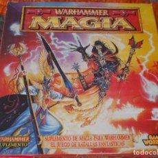 Juegos Antiguos: WARHAMMER FANTASY: ANTIGUO MAGIA DE BATALLA (FALTAN 1 PLANTILLA) ENVÍO YA INCLUIDO. Lote 143031418