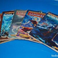 Juegos Antiguos: LOTE DE 5 LIBROS WARHAMMER - ALTOS ELFOS-GAME WORKSHOP. Lote 143445682