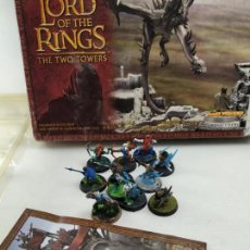 Juegos Antiguos: CAJA LORD OF THE KINGS: CONTIENE FIGURAS NO CORRESPONDEN. Lote 143637746