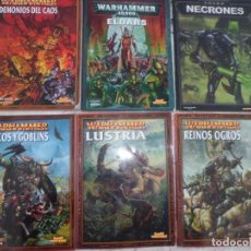 Juegos Antiguos: GRAN LOTE DE WARHAMMER TAPA BLANDA. Lote 143747670
