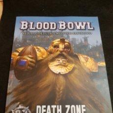 Juegos Antiguos: WARHAMMER BLOOD BOWL DEATH ZONE TEMPORADA UNO ESPAÑOL. Lote 144733896
