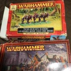Juegos Antiguos: 2 CAJAS DE WARHAMMER DISTINTAS LOTE. Lote 147412406