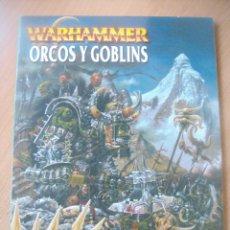 Juegos Antiguos: ORCOS Y GOBLINS - WARHAMMER. Lote 147592234