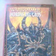 Juegos Antiguos: HORDAS DEL CAOS- WARHAMMER. Lote 147592702