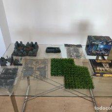 Juegos Antiguos: LOTE TEMÁTICO Nº5 WARHAMMER - MUCHA ESCENOGRAFÍA GAMES WORKSHOP CITADEL BUNKER RUINAS CAJAS. Lote 147700974