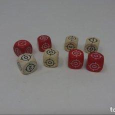 Juegos Antiguos: CRUZADA ESTELAR. LOTE 8 DADOS . Lote 147941282