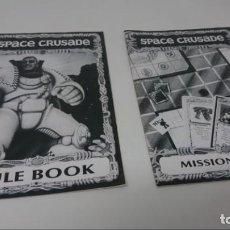 Juegos Antiguos: CRUZADA ESTELAR. MANUAL DE JUEGO Y LIBRO DE MISIONES. EN INGLES. Lote 147942890